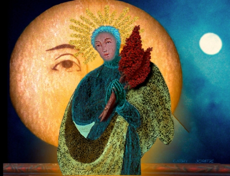 Maria, bold Moon