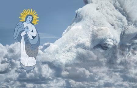 Überirdische Erscheinung, Mary & Schaf
