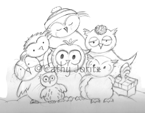 owls family small